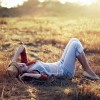 Girl-Summer-Relaxing-Wallpaper